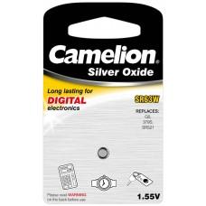 Boton Oxido plata SR63W 1.55V (1 pcs) Camelion (Espera 2 dias)