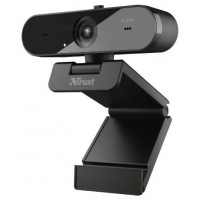 WEBCAM QHD VIDEO 2K TW-250 BLACK TRUST (Espera 4 dias)