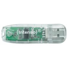 Intenso 3502480 Lápiz USB Rainbow line 32GB Transp