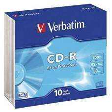 CD VERBATIM DATALIFE 700MB 10U S