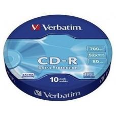 CD VERBATIM DATALIFE 700MB 10U