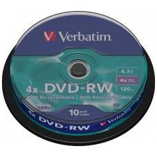 DVD-R VERBATIMW 4.7GB 10U
