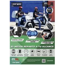 Poster A3 RS Delivery Cargoo - SUNRA (Espera 2 dias)