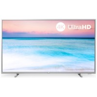 "TV PHILIPS 65PUS6554 65"" UHD 4K SMART HDMI SAPHI PLATA YOUTUBE NETFLIX"