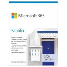 MICROSOFT OFFICE 365 FAM 6U 1A
