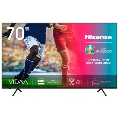 "TELEVISIÃ""N DLED 70  HISENSE 70A7100F SMART TELEVISIÃ""N 4K"