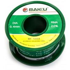 Estaño 0.4mm BAKU-10004 50G (Espera 2 dias)