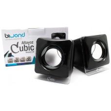 Altavoz Cubic Sound 2.0 Biwond (Espera 2 dias)