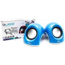 Altavoz Rollic Sound 2.0 Azul Biwond (Espera 2 dias)
