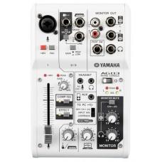 Yamaha AG03 mezclador DJ 3 canales Blanco (Espera 4 dias)