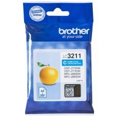 TINTA BROTHER LC-3211C CIAN 200PAG (Espera 4 dias)
