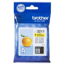 TINTA BROTHER LC-3211Y AMARILLO 200PAG (Espera 4 dias)