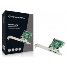 TARJETA PCIEXPRESS CONCEPTRONIC 2 PUERTOS USB 3.0 (Espera 4 dias)
