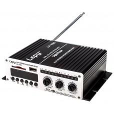 Amplificador Digital Estéreo HI-FI Portátil con USB/SD/FM/MP3 +