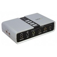 TARJETA DE SONIDO EXTERNA STARTECH 7.1 USB S-PDIF (Espera 4 dias)