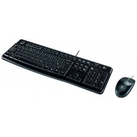 COMBO TECLADO/RATON LOGITECH MK120 USB (Espera 4 dias)