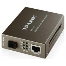 CONVERTIDOR TP-LINK RJ45 10/100 A FIBRA MONOMODO SC