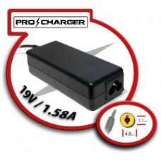 Carg. 19V/1.58A 4.8mm x 1.7mm 30w Pro Charger (Espera 2 dias)