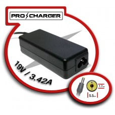 Carg. 19V/3.42A 5.5mm x 1.7 mm 65w Pro Charger