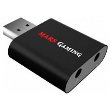 TARJETA DE SONIDO USB 7.1  MARS GAMING SONIDO