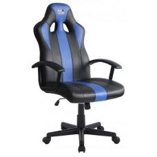 Silla Gaming GM100 Negro/Azul MUVIP (Espera 2 dias)
