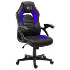Silla Gaming GM900 Negro/Azul MUVIP (Espera 2 dias)