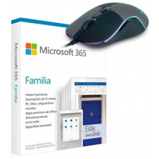 PROMO MICROSOFT OFFICE 365 FAMILY 6PC + RATON BRAV (Espera 4 dias)