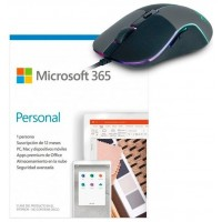 PROMO MICROSOFT OFFICE 365 PERSONAL + RATON M90 (Espera 4 dias)
