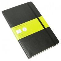 MOLESKINE NOTEBOOK LARGE PLAIN BLACK SOFT COVER