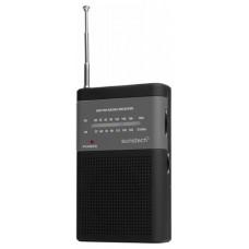 RADIO SUNSTECH PORTATIL RPS-42  ANALOGICO AM/FM NEGRO