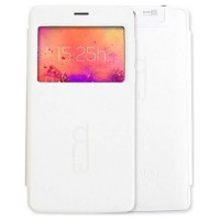 FUNDA FLIP COVER PARA S501 CON VENTANA COLOR BLANCO