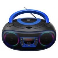 REPRODUCTOR DENVER CD/MP3/RADIO/USB/AUX BOOMBOX TLC-212 AZUL